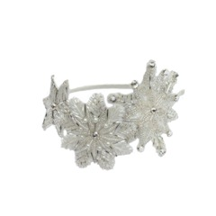 Snowflake-white-headband