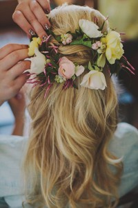 Half up do's - Bridal Musings