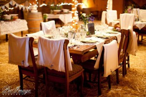Blanket chair covers - Paso Robles Wedding Photographers