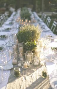 Wedding table - Divine Day Photography via Rock My Wedding